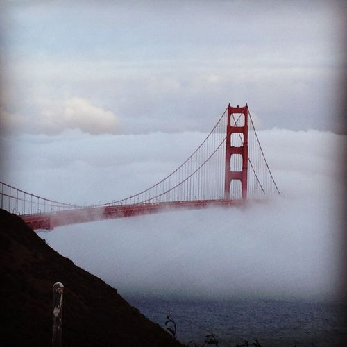 GoldenGateBridge Sfo Soupedin Foggy