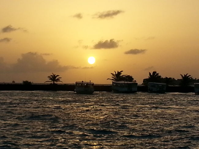sunset.hulhule.shore.colors.natural.beauty Sunsetlover