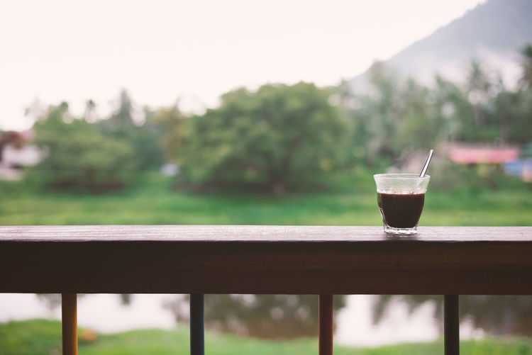 Coffee for the morning with nature background Blackcoffee Coffee Coffee Break Coffee Time Cup Of Coffee Day Drink Focus On Foreground Food And Drink Morning Nature No People Refreshment Relaxing Startup Table Take A Break