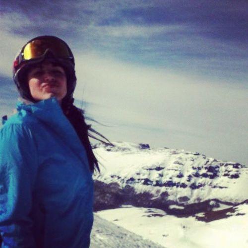 that sky Chapelco Sanmartin Snowboard Snow argentina girl trip sky nature