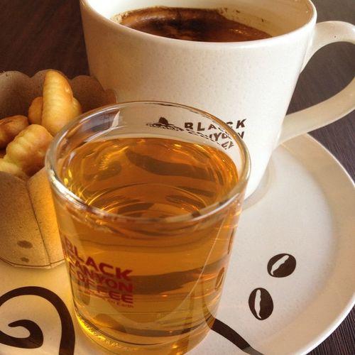 Tea Coffee Hot Hotcoffee Americano BlackCanyon Bangkok Thailand