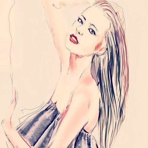 Наконец я порисовала девушек девушка иллюстрация Fashion Fashionillustration