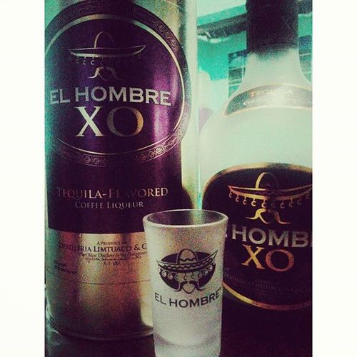 Holiday Tequila Elhombre Coffeeflavor Coffeeliquor My bad I don't like coffee :3