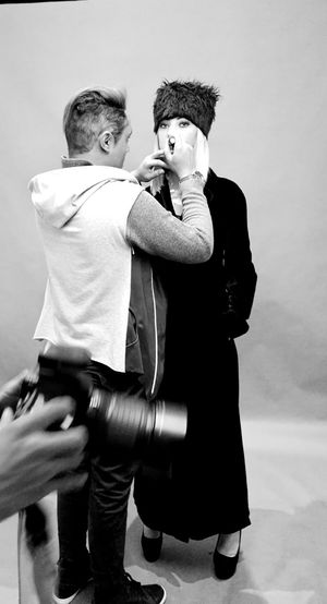 Shooting Model Portrait Shooting Day Black & White Black And White Portrait Portrait Photography HuaweiP9 Black And White Collection  Black And White Collection  Fotography Makeup Artist Backstage Eyeem On Week Tranquil Scene Costa Etruschi Model Agency