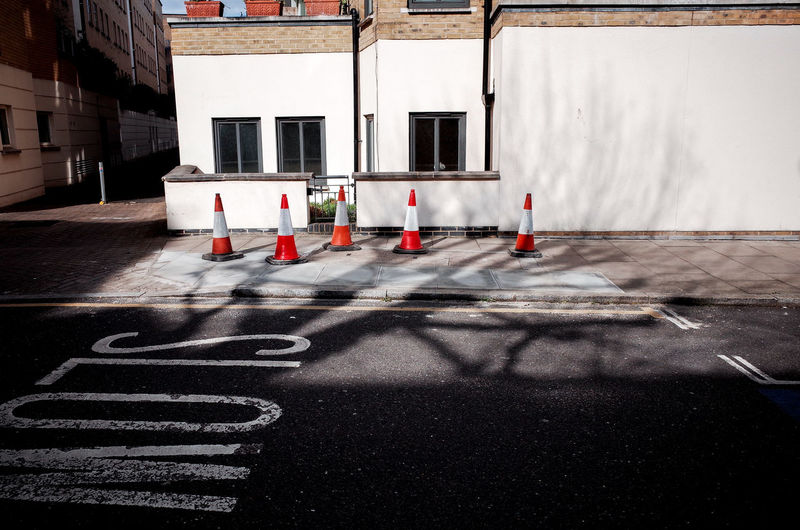 City City Street Postcode Postcards Road Cones Corner Everybodystreet Forms And Shapes Road Marking Shapes And Forms Street Traffic Cone Traffic Sign