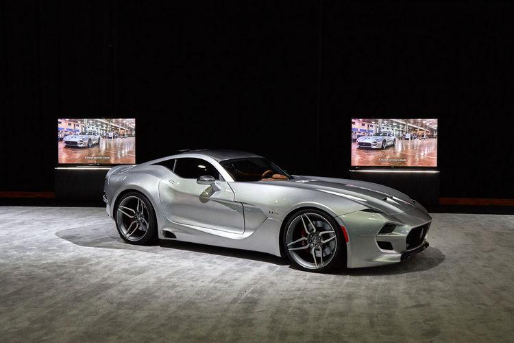 2016 Detroit Auto Show Car Force 1 Futuristic Silver  VLF
