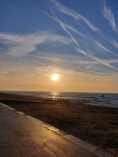 morning sunrise Water Low Tide Sea Sunset Beach Wave Sand Summer Salt - Mineral Blue My Best Photo