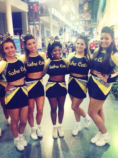 Sabrecats team safe and happy Sheffieldsabrecats  Sabrecats Cheer Competition Cheer Life