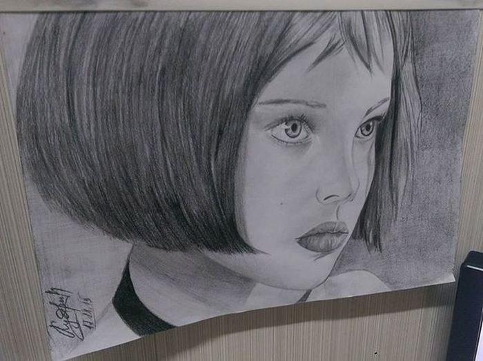 леонкиллер матильда наталипортман портрет