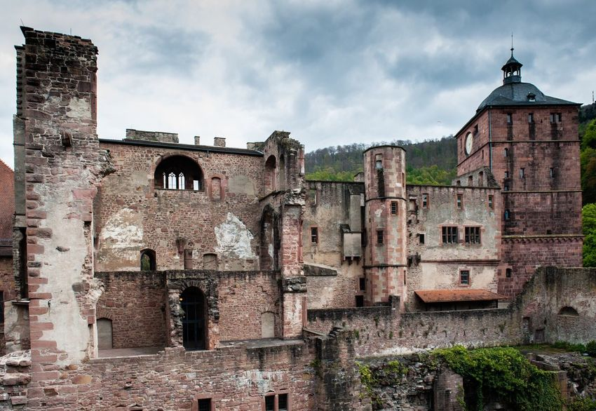2017 Germany Heidelberg Architecture History Abandoned Old Ruin Built Structure Building Exterior Damaged Ancient Sky Day No People Outdoors Ancient Civilization The Week On Eyem Travel Photography GERMANY🇩🇪DEUTSCHERLAND@ Heidelberg Beauty In Nature