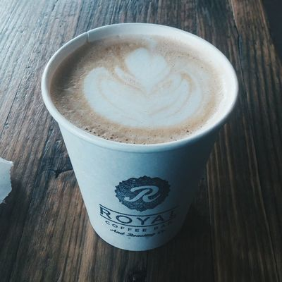 good morning + good coffee 365grateful Royalcoffeebar Supportlocal