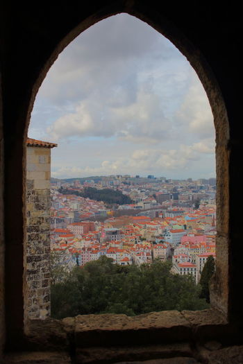 Lisbon Lisbon - Portugal Lissabon, Portugal EyeEm City Photography Architecture Built Structure Arch Cloud - Sky Sky Nature Building Exterior No People Day Window Building City Cityscape History Tree Wall Travel Destinations Plant The Past Outdoors Brick TOWNSCAPE