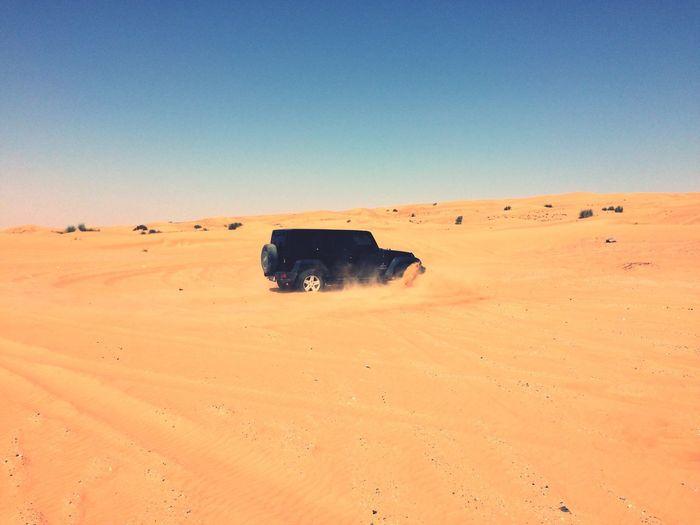 EyeEmNewHere EyeEm Selects Jeep Wrangler  Desert Mydubai Dubai Weekend DuneBashing Jeepbeef Jeeping Jeep Life First Eyeem Photo EyeEmNewHere