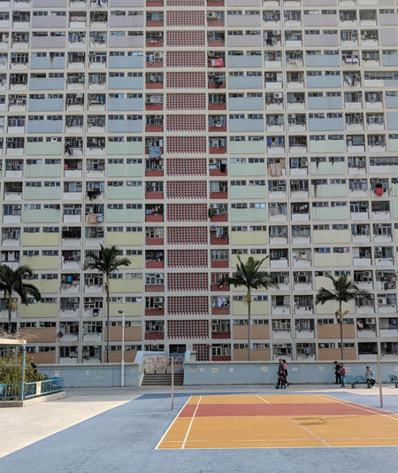 Hong Kong Hong Kong Architecture Architecture Building Exterior Built Structure Choi Hung Estate City Day Growth Modern No People Outdoors Tree The Traveler - 2018 EyeEm Awards The Street Photographer - 2018 EyeEm Awards The Architect - 2018 EyeEm Awards