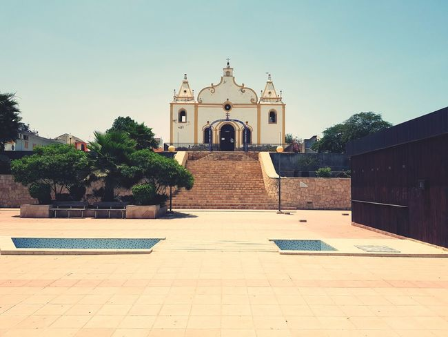 Travel Destinations Architecture Built Structure Outdoors No People Building Exterior Day Sky Eyem Vision Cabo Verde Church Architecture Colonial Architecture Vacations EyEmNewHere EyeEm Best Shots Religion Vila Do Maio Sommergefühle EyeEm Selects
