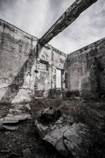 Abandoned Architecture Building Exterior Built Structure Damaged Day No People Old Ruin Outdoors Silkfactory Sky