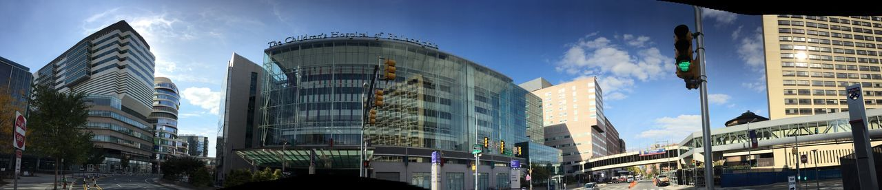 Panoramic Philadelphia Children's Hospital  University City