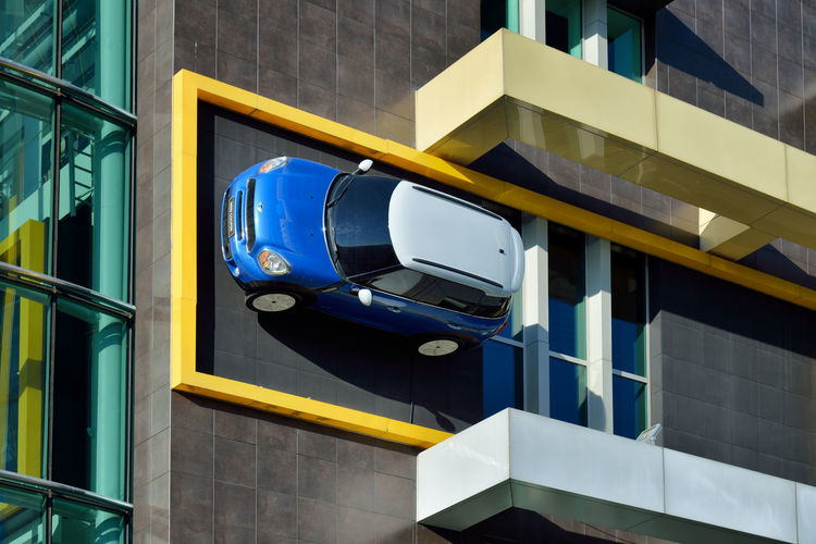 Vertical Architecture City Urban Car Façade Building Wall Day Istanbul Outdoors Turkey No People Built Structure TR792_ISTANBUL_AK TR792_TURKEY_AK