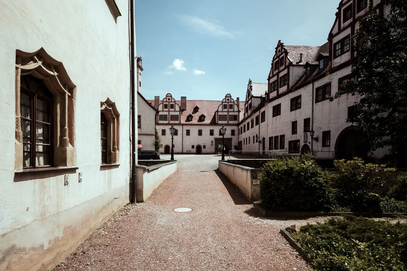 The Castle in Glauchau Beautiful Castle Castles Day Daylight Historic Historical Building Historical Monuments Light Light And Shadow No People Nostalgia Nostalgic  Old Buildings Old-fashioned Perspective Saxony Sky Sky And Clouds Sun Sunny Sunny Day Wanderlust