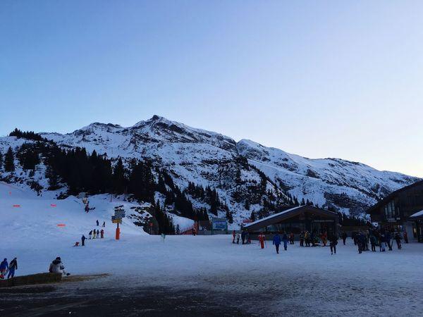 Aples❄️ Aples France Morzine Snow Mountain Skiing Morzine-Avoriaz First Eyeem Photo