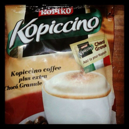 Will try this later :) Kopiccino Kopiko