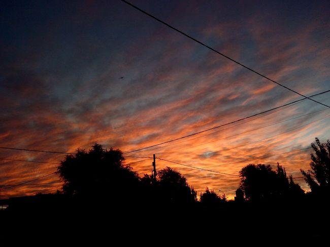 El cielo Bahiense 😊😊😊😊😊 OrangeSkys Cielo Y Nubes  Naranja Dulce