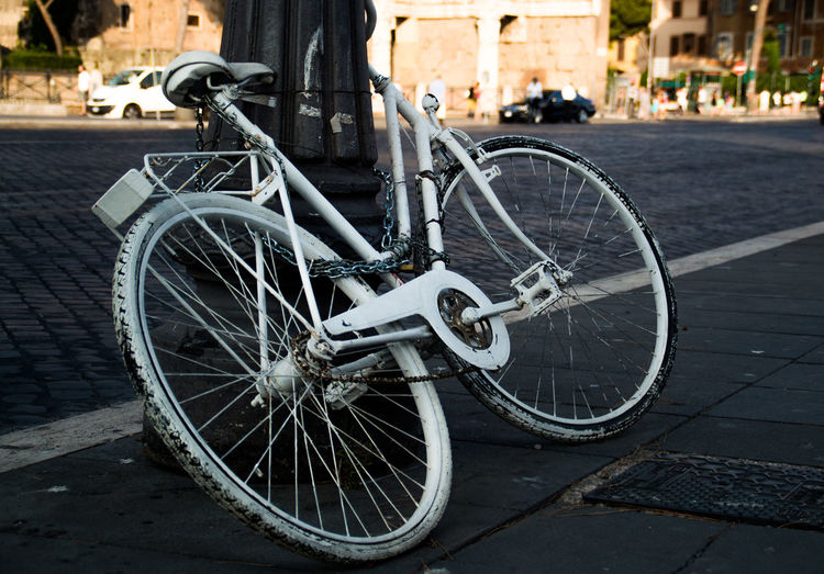 Arts Culture And Entertainment Bicycle City Eternal City Mode Of Transport Rome, Italy Streetart Transportation