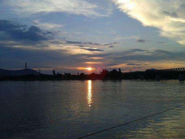 Duna Relaxing sunset Enjoying Life No People Landscape Hill