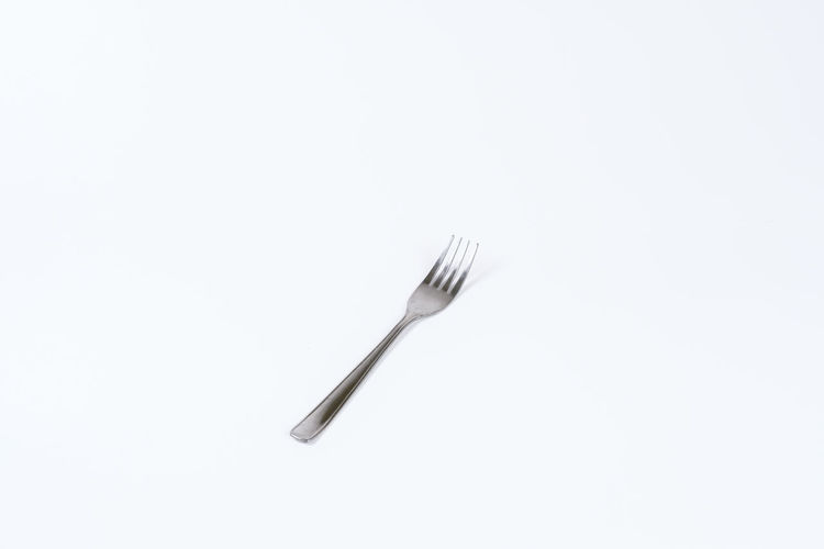 Eating Equipment Food Fork Garpu Kitchen Utensil Utensils Studio Shot Kitchen Utensil Eating Utensil White Background Copy Space Indoors  Single Object Metal Cut Out No People Household Equipment Still Life Close-up High Angle View Silver Colored Steel Stainless Steel  Knife Silverware  Table Knife