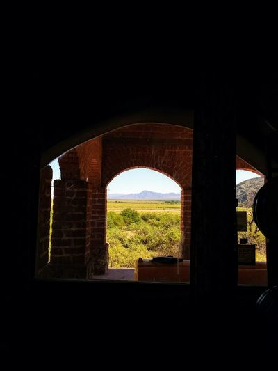 Desde adentro // From inside Cafayate Clesr Sky Wine Cellar Valley Blue Sky Mountain From Inside Out From Inside