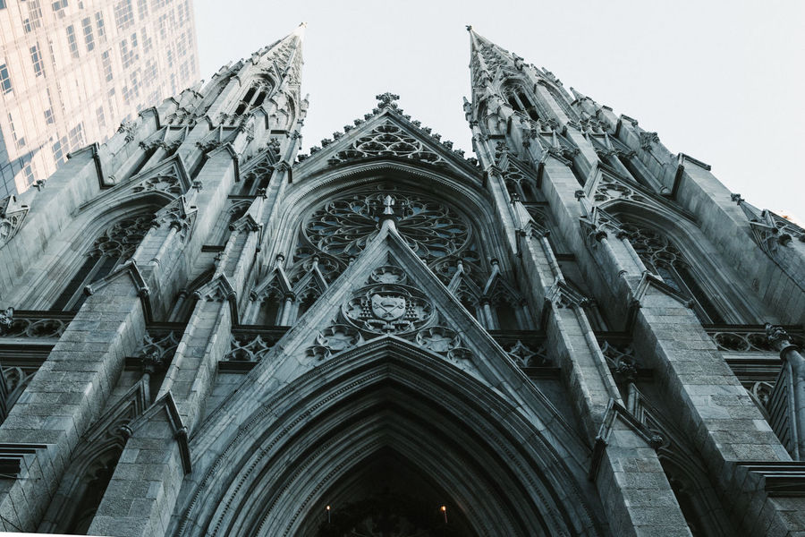 Church New York New York City VSCO Architecture Building Exterior Built Structure Day Façade History Low Angle View No People Outdoors Place Of Worship Religion Sculpture Sky Spirituality Streetphotography Travel Destinations Vscocam
