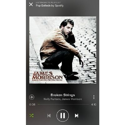 now playing: broken strings Myplaylist