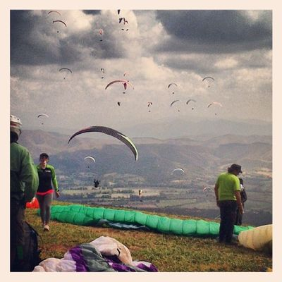 Faith and hope Freedom Friends Paragliding
