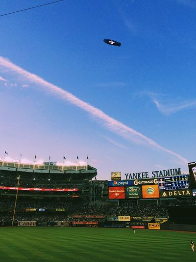 Iphoneonly Blimp Yankees Yankee Stadium