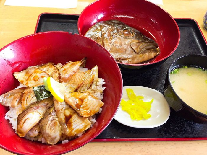 炙り丼 Food Seafood Freshness Healthy Eating Close-up