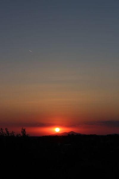 Sunset Sky Beauty In Nature Landscape Nature Dramatic Sky Orange Color Sun Outdoors Beauty Horizon Nubivagant Gorgeous Photography Bulgaria Heaven