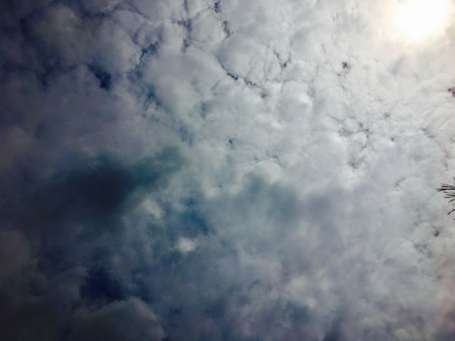 The bright sun surrounded by clouds. Cloud Clouds Bright Sun Cloudscape Sky Nature Atmospheric Mood Beauty In Nature Sky Only No People Outdoors Day