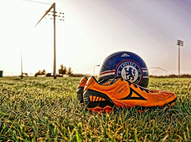 Grass Outdoors No People Nature Day Sky Soccer Cleats Pirma Futbol EyeEm Ready