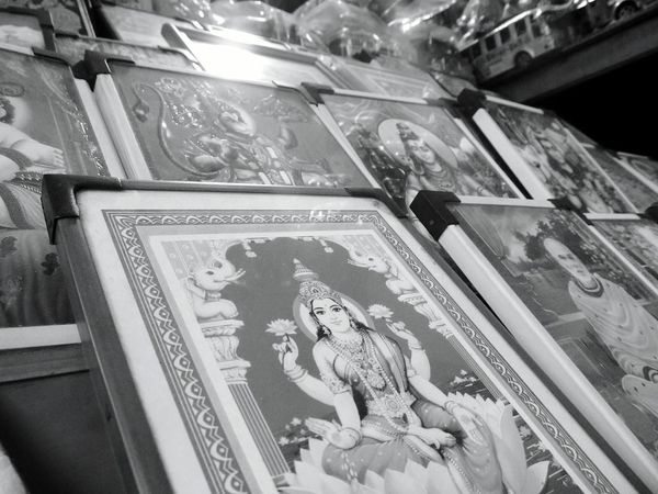 Check This Out Gods Art Gods Templestreet Kerala The Gods Own Country ;) Temples Gods Black And White Photography Depth Of Field Devotional OpenEdit