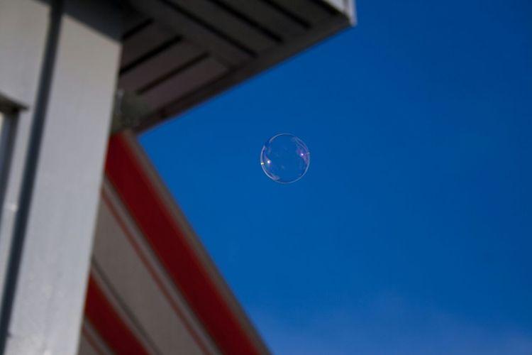 Hello World Soap Bubbles Taking Photos Summer