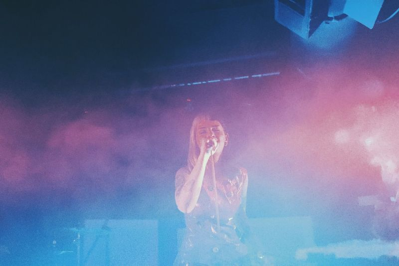 Melanie Martinez Concert in Seattle // Crybaby People Concert Photography Lighting Smoke Colour Stage Music Artist Pink Blue Live ((last photo post for now))