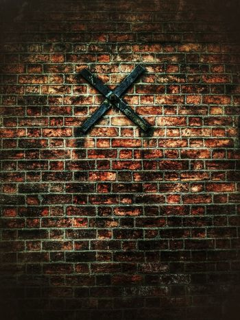 All In All It Was Just Another Brick In The Wall Grunge It Up Bricks In The Wall Brick Wall X Marks The Spot Iron And Brick Hdr Edit Grunge Style Brickporn Brick Walls Brick Work Brickfans Simple Photography Simple Moment For Friends That Connect  Pink Floyd Tales From The Underground Snapseed_HDR