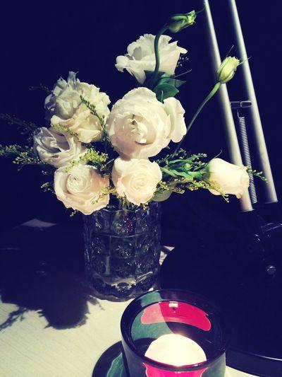 自己浪漫下 Flower Candle Night