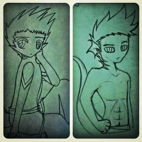 i did another one C: Art Awesome  Pencil Redrawn