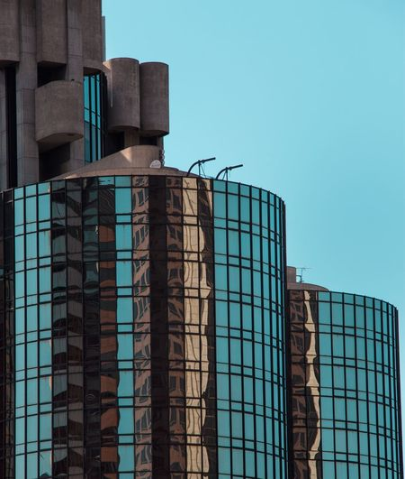 Seeing Double, Downtown Los Angeles. Modern Architecture Architecture Symetry Façade Built Structure Buildings Pattern, Texture, Shape And Form Pattern Skyscraper Skyscrapers Fresh On Eyeem  DTLA The Architect - 2016 EyeEm Awards