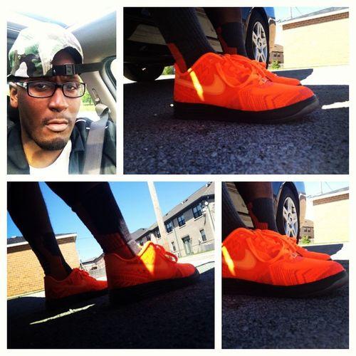 Everyday is BHM so those are the kicks I rocked today. BHM Nike Swooshhead sotd kotd igsneakercommunity kicksonfire kickstagram nicekicks sneakrgang sneakernews solecollector wdywt heat fresh lacedup solefly complexsneakers