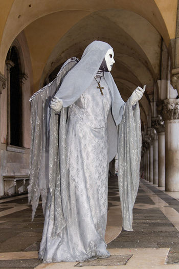 Carnival in Venice Carnival In Venice Arch Architecture Costume Day Human Representation Indoors  Mask - Disguise No People Pose Sculpture Statue The Traveler - 2018 EyeEm Awards The Street Photographer - 2018 EyeEm Awards The Portraitist - 2018 EyeEm Awards The Photojournalist - 2018 EyeEm Awards