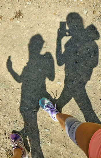 Shadows Shadow Play Shadowstalk Girls Girlfriend Enjoying Life Things I See Howiseethings Hiking Hikingadventures Walking Around Taking Pictures Mountains The Mix Up Legs Legophotography Sports People And Places On The Way People Together