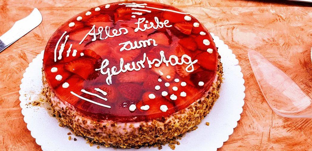 Alles Gute! DIY Deutschland Geburtstag Geburtstagsfeier Geburtstagskind German Happy Birthday Kuchen Self-made Alles Gute Zum Geburstag Baked Cake Dessert Deutsch Geburtstagstorte Germany Indulgence Selbstgemacht Sweet Food Torte