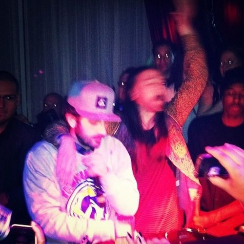 Aoki and Borgore crushing Drais Hollywood Last Night! Chee Grammy Party!
